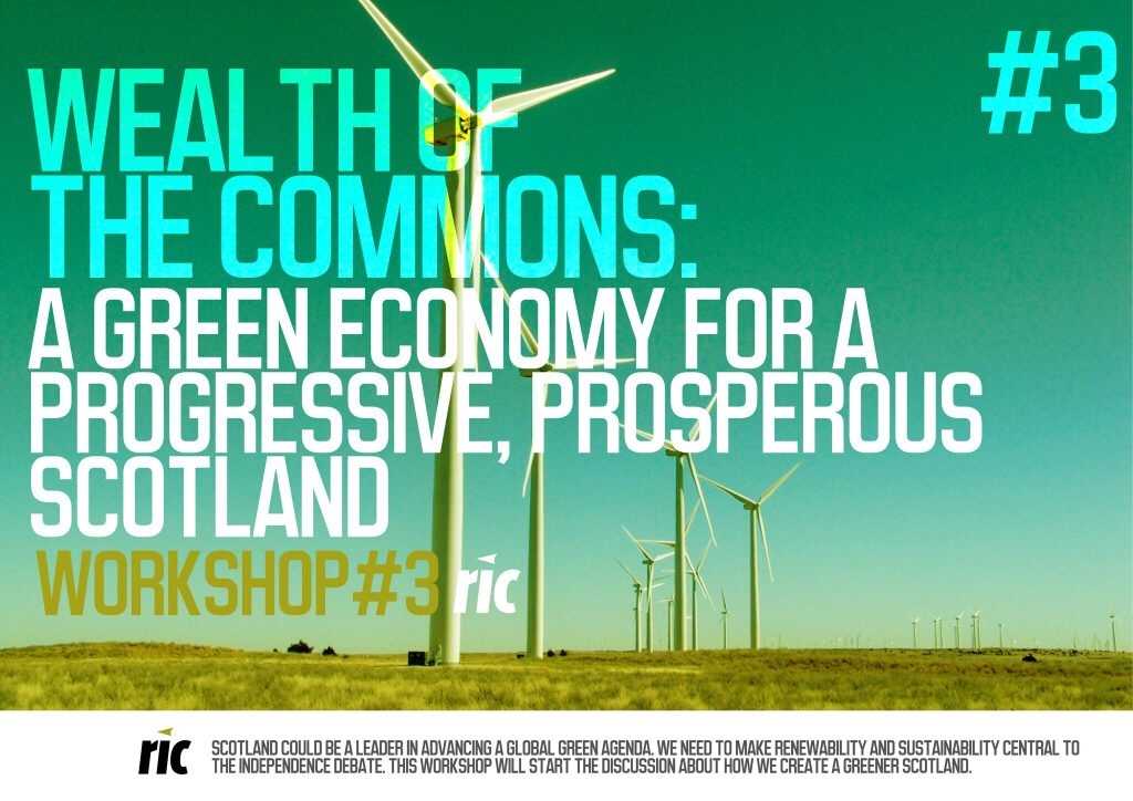 Wealth of the Commons: A Green economy for a progressive, prosperous Scotland