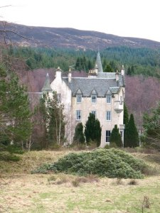 Rannoch School on the Dall Estate in Perthshire.
