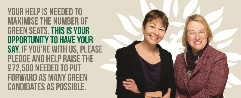 The Green Party's new crowdfunding campaign