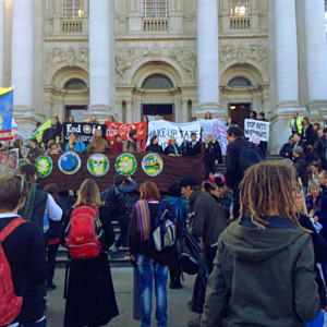 Thousands march for climate action and against dirty energy