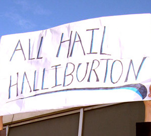 Universities shake hands with EWRE and Halliburton