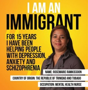 Immigrant poster
