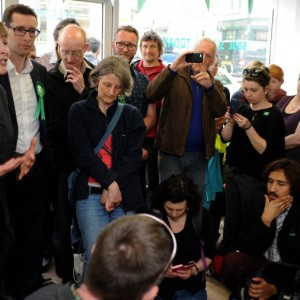 Greens: It's time to hunker down
