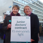 Greens support junior doctors on strike