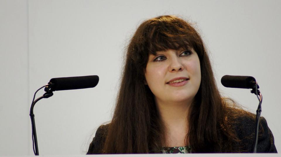 Amelia Womack is one of the candidates for the Green Party deputy leadership
