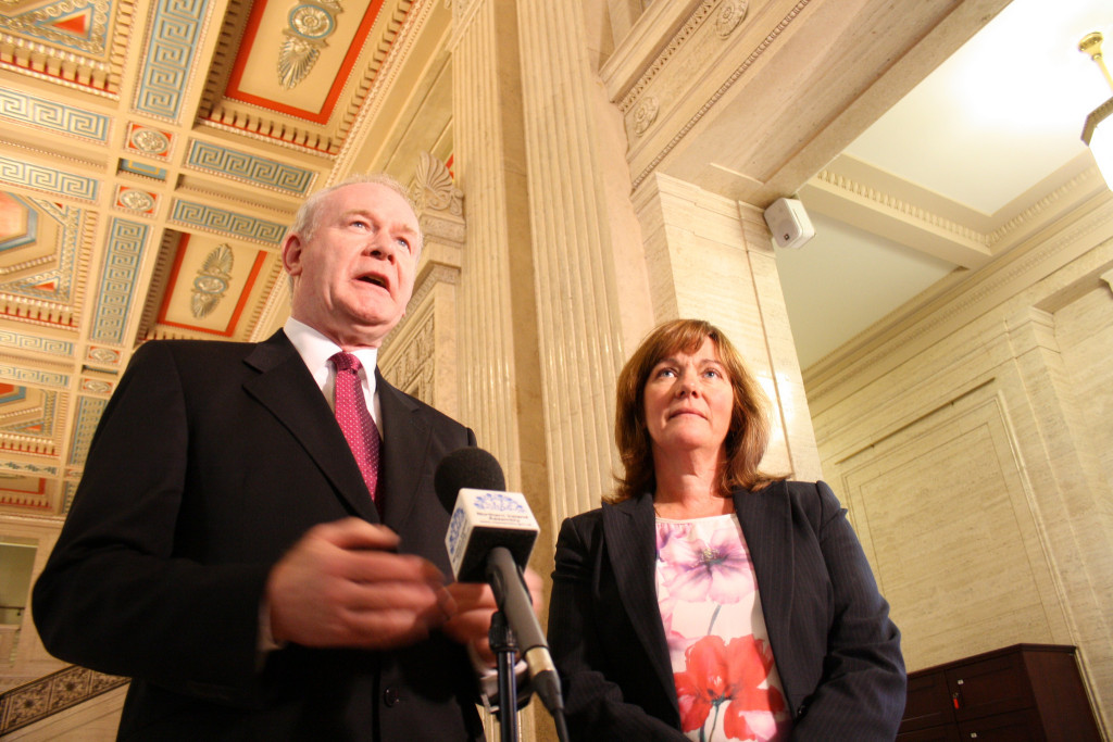Martin McGuiness, former- NI deputy first minister. Photo credit, flickr user: 'Sinn Fein' https://creativecommons.org/licenses/by/2.0/