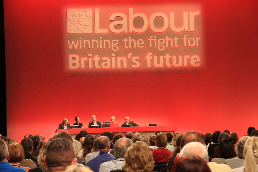 Labour Party conference in 2008: a Blairite Labour party winning another UK election is as undesirable as it is likely. Image: Adrian Scottow, Flickr.