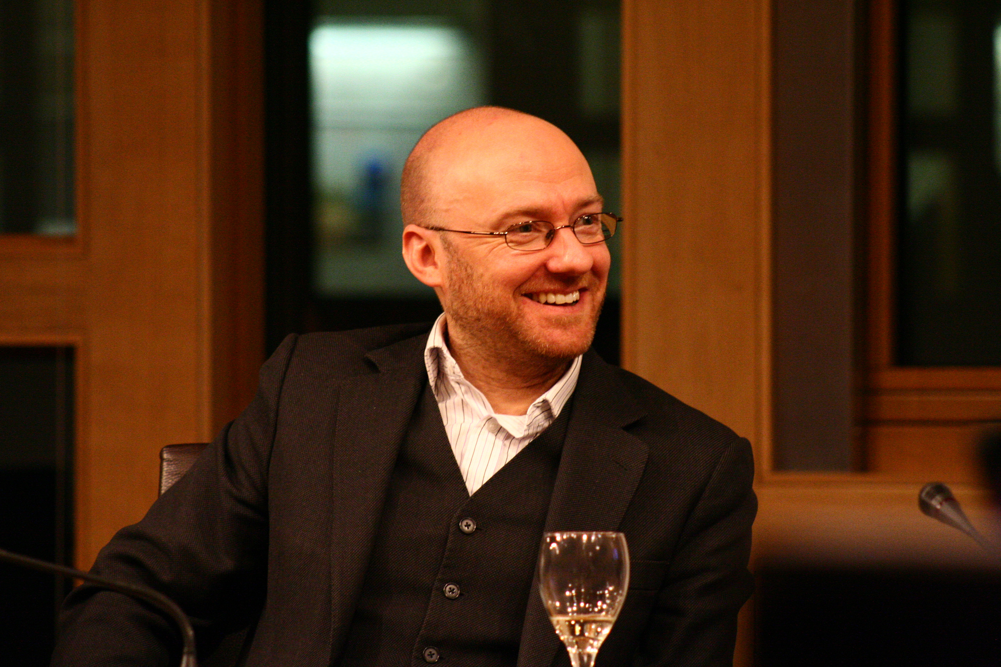 Patrick Harvie, Scottish Greens co-convener and MSP. Photo credit flickr user ICARB.org http://tinyurl.com/kyg5dog Creative Commons license: https://creativecommons.org/licenses/by-nc-sa/2.0/