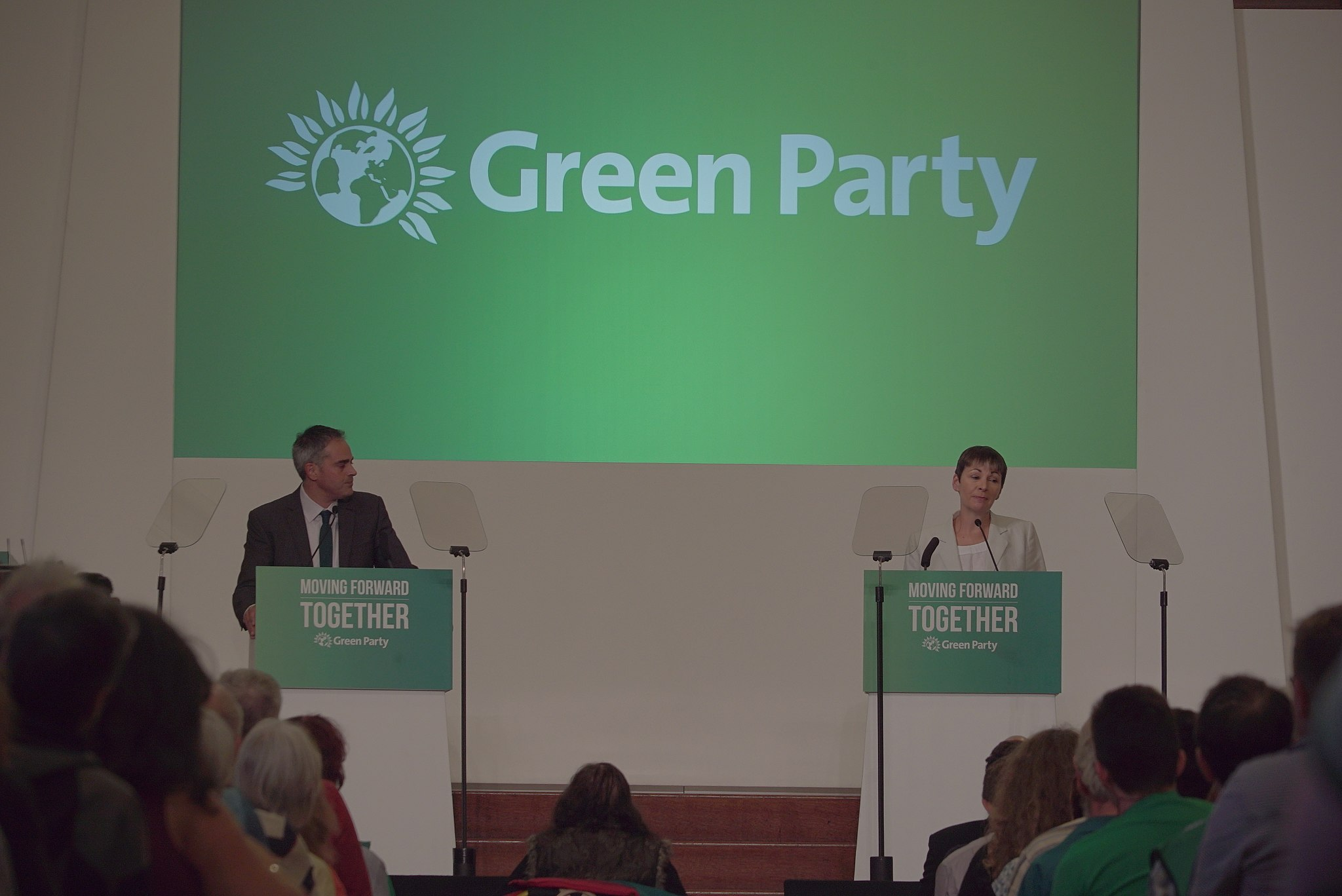 Green Party Autumn 2016 conference. By Jwslubbock (Own work) [CC BY-SA 4.0 (http://creativecommons.org/licenses/by-sa/4.0)], via Wikimedia Commons