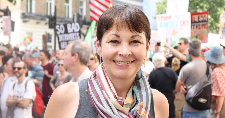 Caroline Lucas is the UK's sixth most admired woman – UK Green news round up week 29
