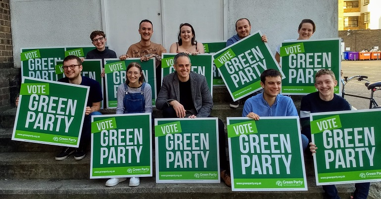 "Young Greens launch ""most ambitious"" election campaign ever"