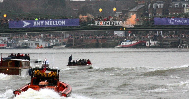 Police disruption of the boat race protest shows our movement is too powerful to ignore