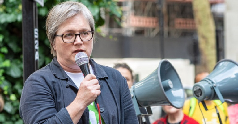 BREAKING: Green London Assembly member Caroline Russell arrested