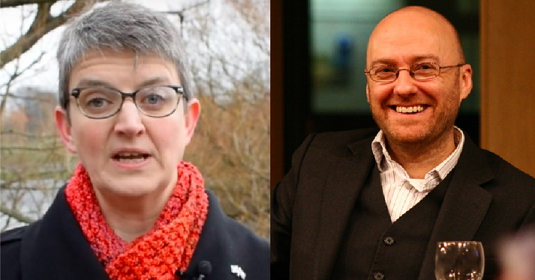 Patrick Harvie and Maggie Chapman - Scottish Greens co-leader