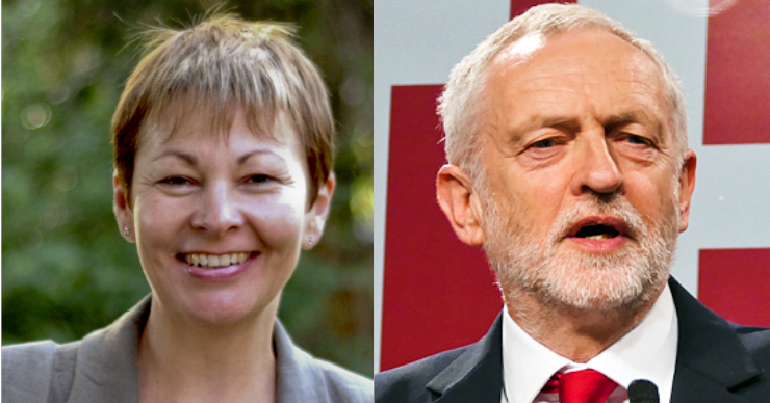 Greens back Corbyn government to stop no-deal Brexit: UK Green news round up weeks 32-33