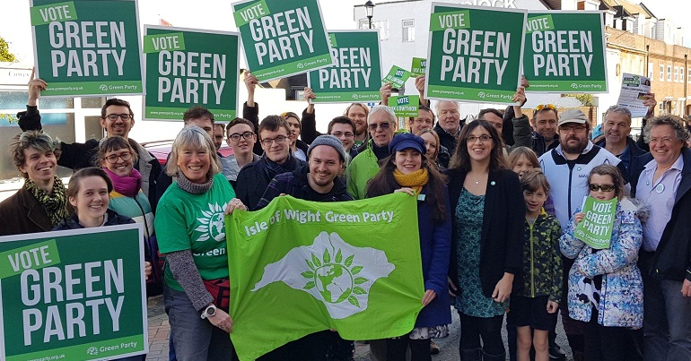 Isle of Wight Green Party campaign launch
