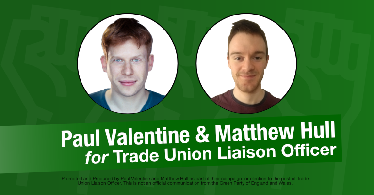 Interview with Matthew Hull and Paul Valentine – Trade union liaison officer candidates for GPEx
