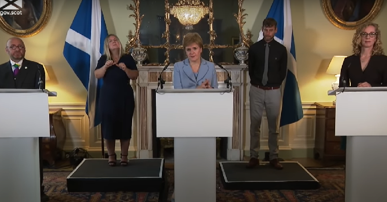 Greens to enter government in Scotland after members back cooperation deal