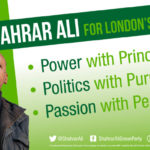 Principle, purpose and personality: Shahrar Ali for Green London European election candidate
