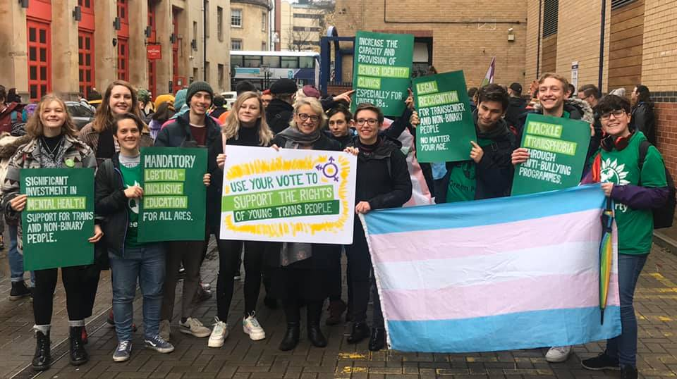 Green Party backs self-identification for gender recognition certificates